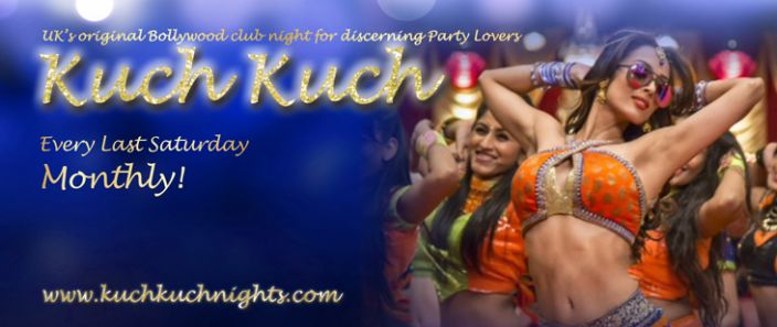 Come fall in Love.. with Kuch Kuch Bollywood Party Lovers - Every LAST Saturday MONTHLY!  OPEN 9pm - 2am