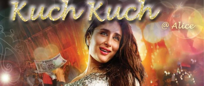 Saturday 28 January Hot date with Kuch Kuch Bollywood Lovers delights Alice!
