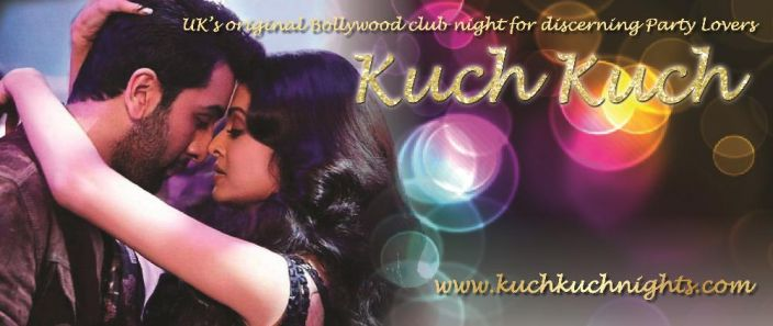 Saturday 25 November - fall in love with Kuch Kuch Bollywood Party Lovers @Alice