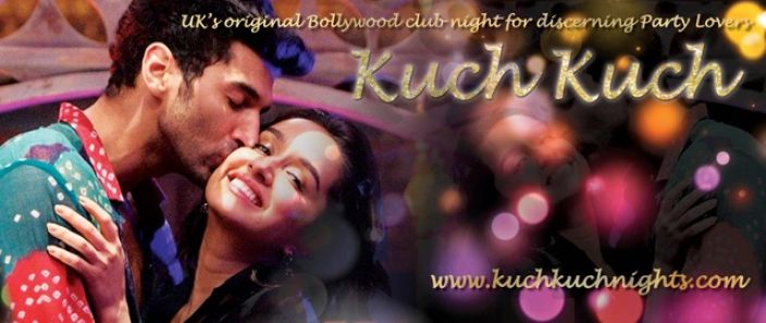 Saturday 25 November join Kuch Kuch Bollywood Lovers Party @Alice!