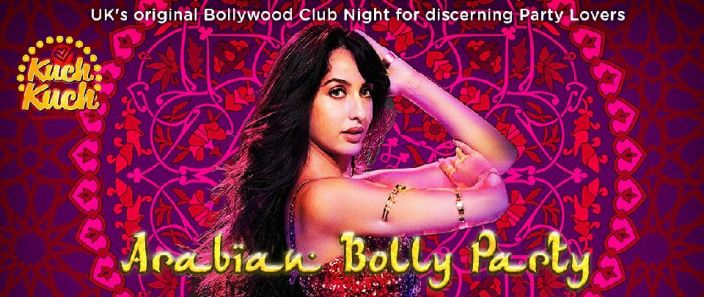 Saturday 31 August Magical Arabian Nights Bollywood Style Party @Secret City Location!