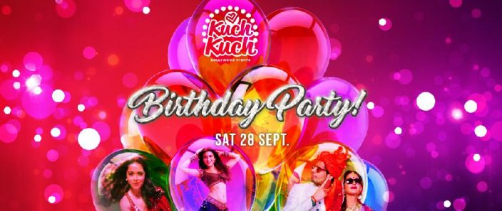 <h3>Sat. 28 Sept. Kuch Bollywood Birthday Party @Alice </h3>